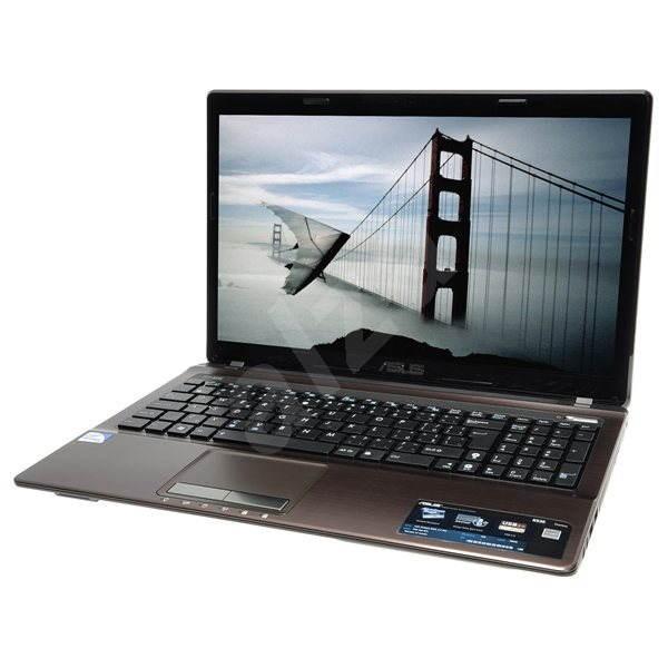 ASUS K53E-SX1285 hnědý - Notebook