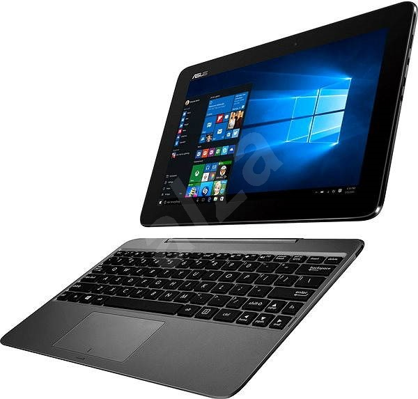 ASUS Transformer Book T100HA-FU029T šedý kovový - Tablet PC