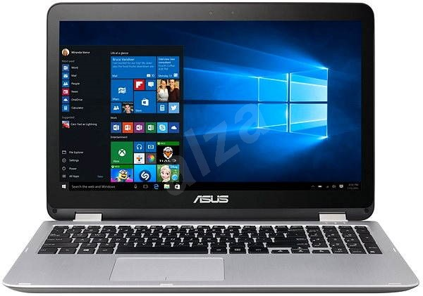 ASUS Transformer Book Flip TP501UA-DN123T šedý kovový - Tablet PC
