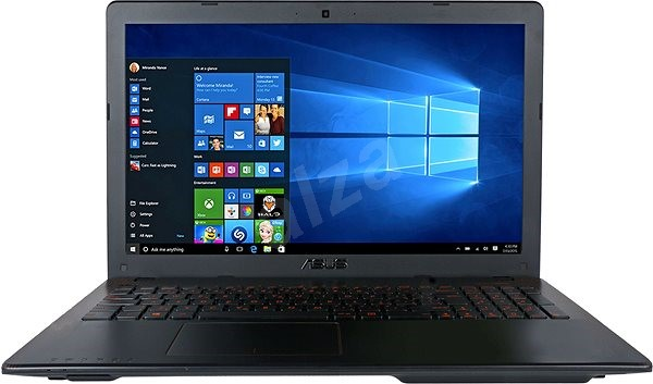 ASUS F550VX-DM588T Glossy Black - Notebook