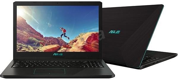 ASUS X570ZD-DM121T Black - Notebook