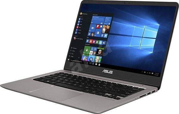 ASUS ZENBOOK UX410UA-GV151T šedý kovový - Notebook