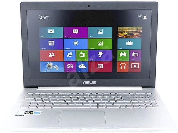 ASUS ZENBOOK Pro UX501VW-FY057R kovový - Notebook