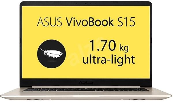 ASUS VivoBook S15 S510UA-BQ608T Gold Metal