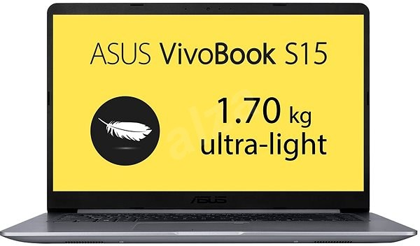 ASUS VivoBook S15 S510UN-BQ131T Gray Metal - Notebook