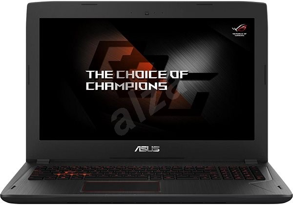 ASUS FX502VE-FY057T Black Aluminium