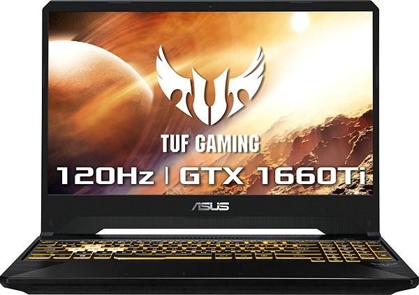 ASUS TUF Gaming FX505DU-AL130T Stealth Black - Herní notebook