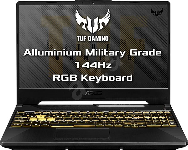 Asus TUF Gaming A15 FA506IU-HN312 Fortress Gray kovový - Herní notebook