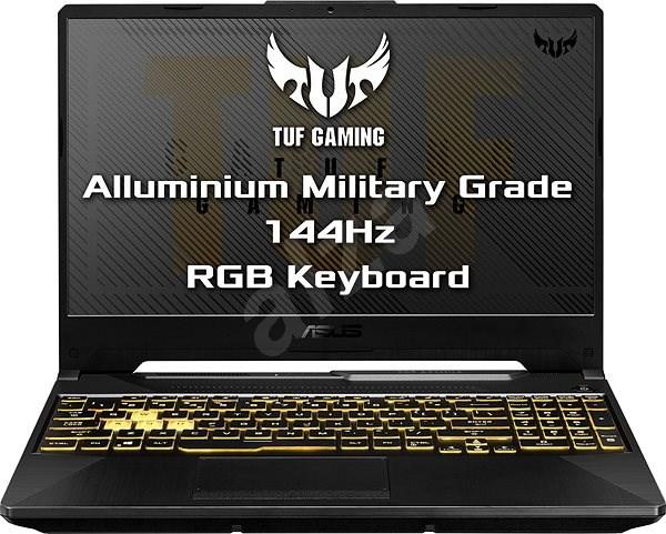 Asus TUF Gaming A15 FA506IU-HN312 Fortress Gray kovový - Herní notebook