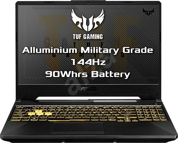 Asus TUF Gaming A15 FA506IU-HN351T Fortress Gray kovový - Herní notebook