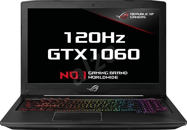 ASUS ROG STRIX SCAR Edition GL503VM-ED138T Black Metal