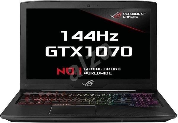 ASUS ROG STRIX SCAR Edition GL503VS-EI012T Black Aluminum - Notebook