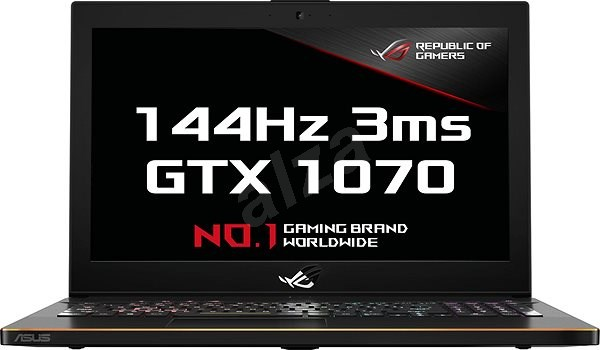 ASUS ROG Zephyrus M GM501GS-EI003T Black Metal - Herní notebook