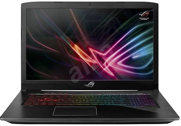 ASUS ROG STRIX GL703VD-GC008T Black Metal - Notebook
