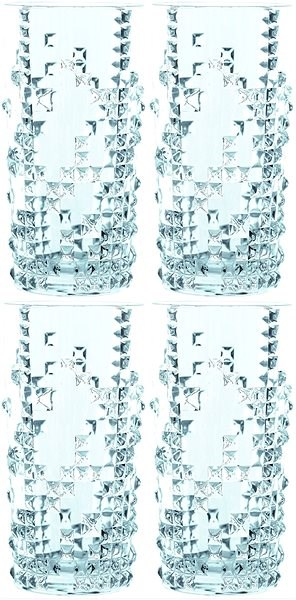 Nachtmann Sada sklenic Long Drink 390ml 4ks PUNK - Sklenice na studené nápoje