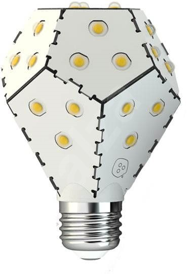 Nanoleaf One E27 6000K 1600lm White - LED žárovka