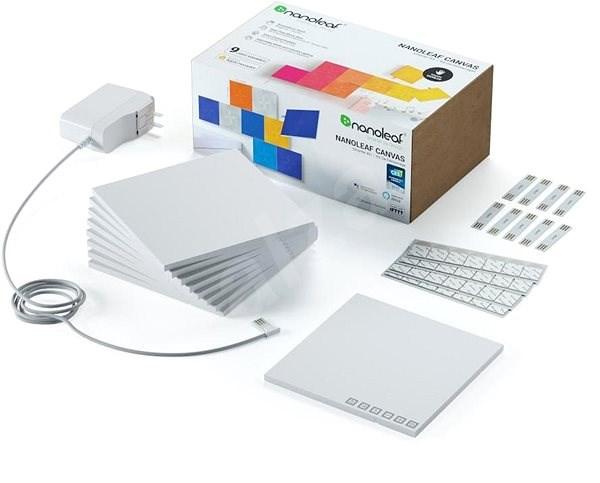 Nanoleaf Canvas Panels Smarter Kit 9 Pack - LED světlo