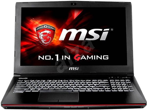 MSI GE62 2QC-402CZ Apache - Notebook