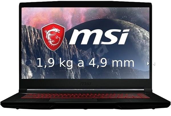MSI GF63 8RD-213CZ kovový - Herní notebook