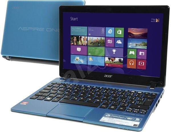 Acer Aspire ONE 725-C7Xbb modrý - Notebook