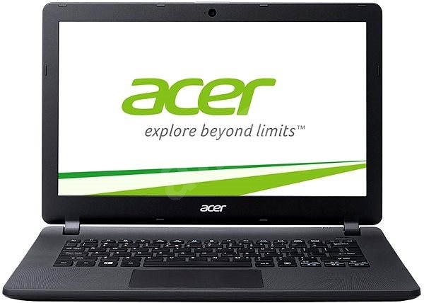Acer Aspire E13 Black + 1 rok McAfee LiveSafe - Notebook