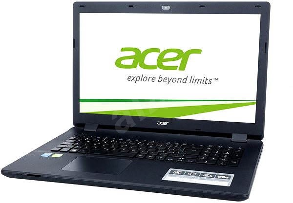 Acer Aspire ES17 Diamond Black - Notebook