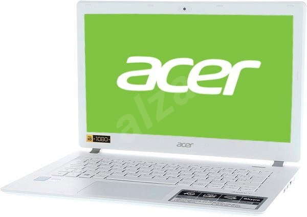 Acer Aspire V13 White Aluminium - Notebook