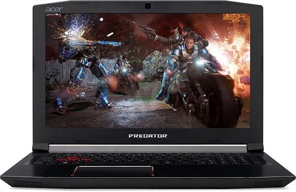 Acer Predator Helios 300 Obsidian Black kovový