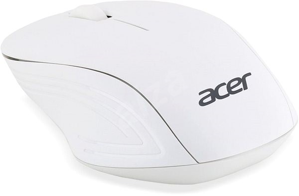 Acer Wireless Optical Mouse Moonstone White - Myš