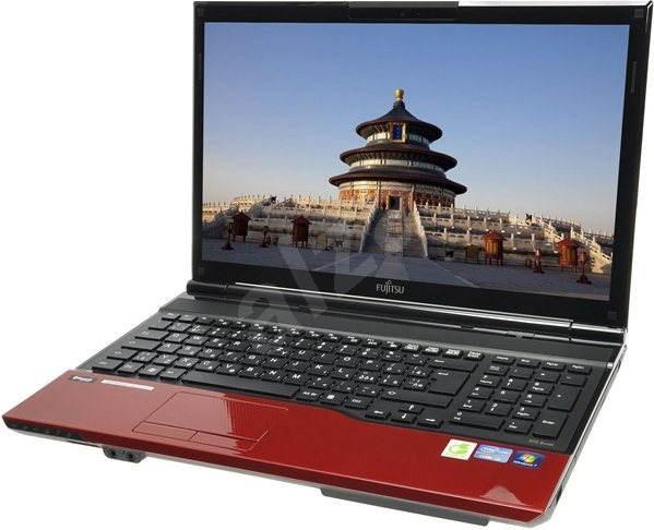 Fujitsu Lifebook AH532 Garnet Red - Notebook