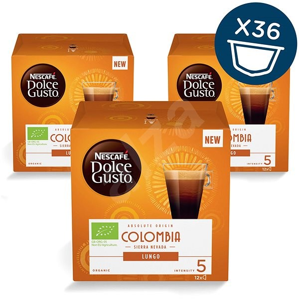 NESCAFÉ Dolce Gusto Colombia Sierra Nevada Lungo, 3 balení - Kávové kapsle