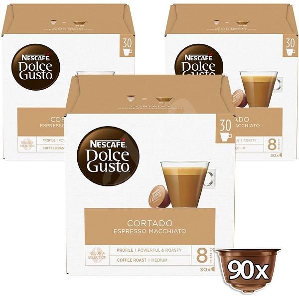 NESCAFÉ Dolce Gusto Cortado Espresso Macchiato, 3 balení - Kávové kapsle