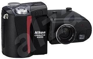 Nikon Coolpix 4500 PAL/NTSC - 4 mil. bodů, 4x opt. zoom - Digitální fotoaparát