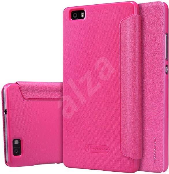 Nillkin Sparkle Folio pro Huawei Ascend P8 Lite růžové - Pouzdro na mobilní telefon
