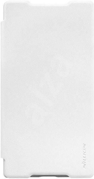 Nillkin Sparkle Folio pro Sony E6853 Xperia Z5 Premium bílé - Pouzdro na mobilní telefon