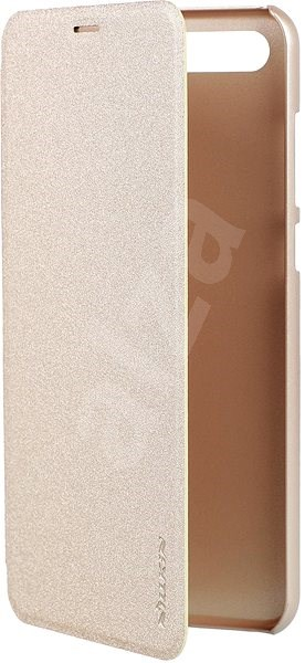 Nillkin Sparkle Folio pro Honor 10 View,  Gold - Pouzdro na mobilní telefon