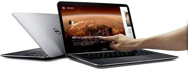 Dell XPS 15 Touch stříbrný - Notebook
