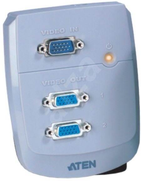 ATEN VS-82 - Aktivní rozbočovač video signálu