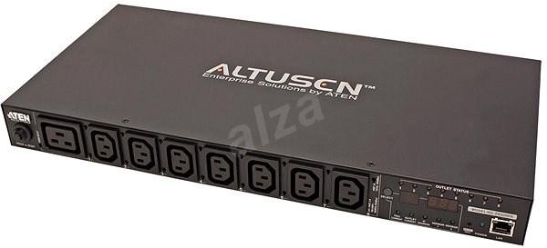 Aten 19'' Napájecí jednotka, 8 zásuvek, ovládání přes IP, PE6208G - Dálkově ovládaná zásuvka