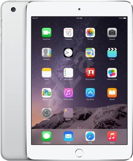 iPad mini 3 s Retina displejem 64GB WiFi Silver - Tablet
