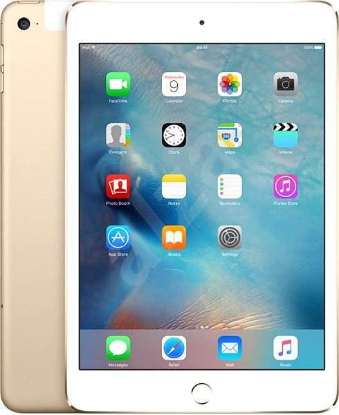 iPad mini 4 s Retina displejem 16GB Cellular Gold - Tablet