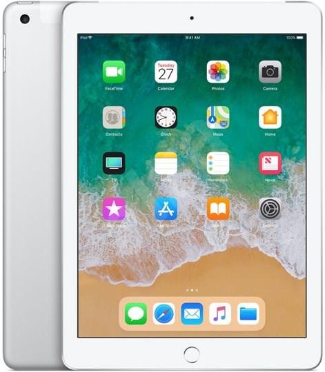 iPad 128GB WiFi Cellular Stříbrný 2018 - Tablet