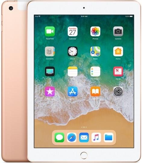 iPad 128GB WiFi Cellular Zlatý 2018 - Tablet