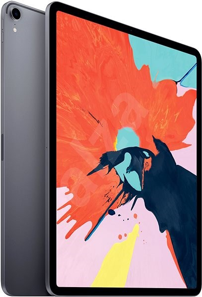 """iPad Pro 12.9"""" 256GB 2018 Cellular Vesmírně šedý - Tablet"""