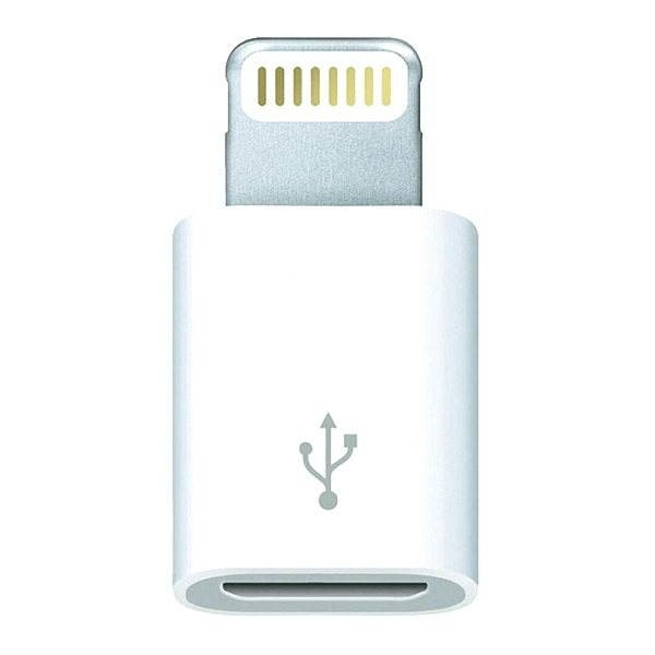 Apple Lightning to Micro USB Adapter - Redukce