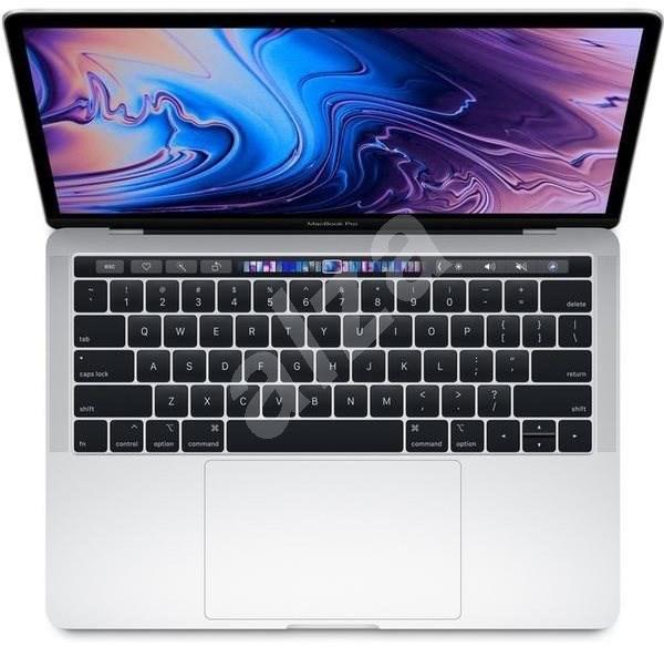 """MacBook Pro 13"""" Retina US 2019 s Touch Barem Stříbrný - MacBook"""