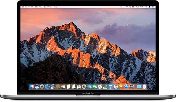 """MacBook Pro 15"""" Retina CZ 2016 s Touch Barem Vesmírně šedý - MacBook"""