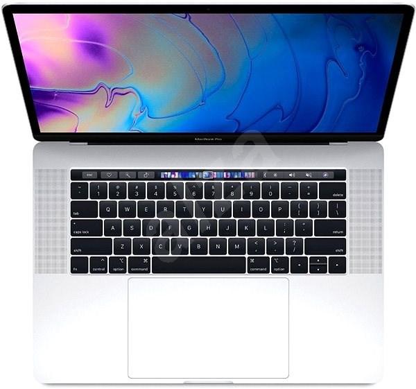 "MacBook Pro 15"" Retina ENG 2018 s Touch Barem Stříbrný - MacBook"