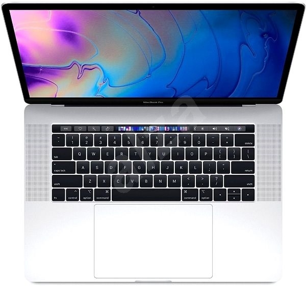 """MacBook Pro 15"""" Retina CZ 2019 s Touch Barem Stříbrný - MacBook"""
