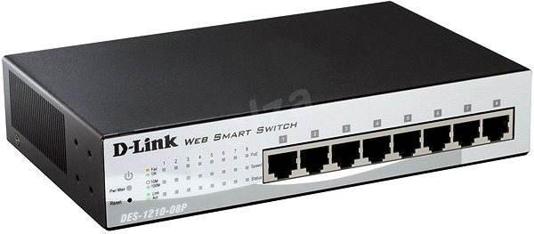 D-Link DES-1210-08P - Switch